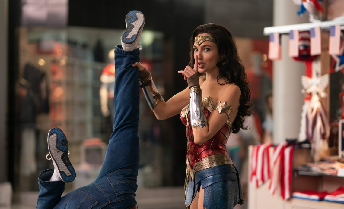 Dadvengers Wonder Woman 1984 review - Gal Gadot