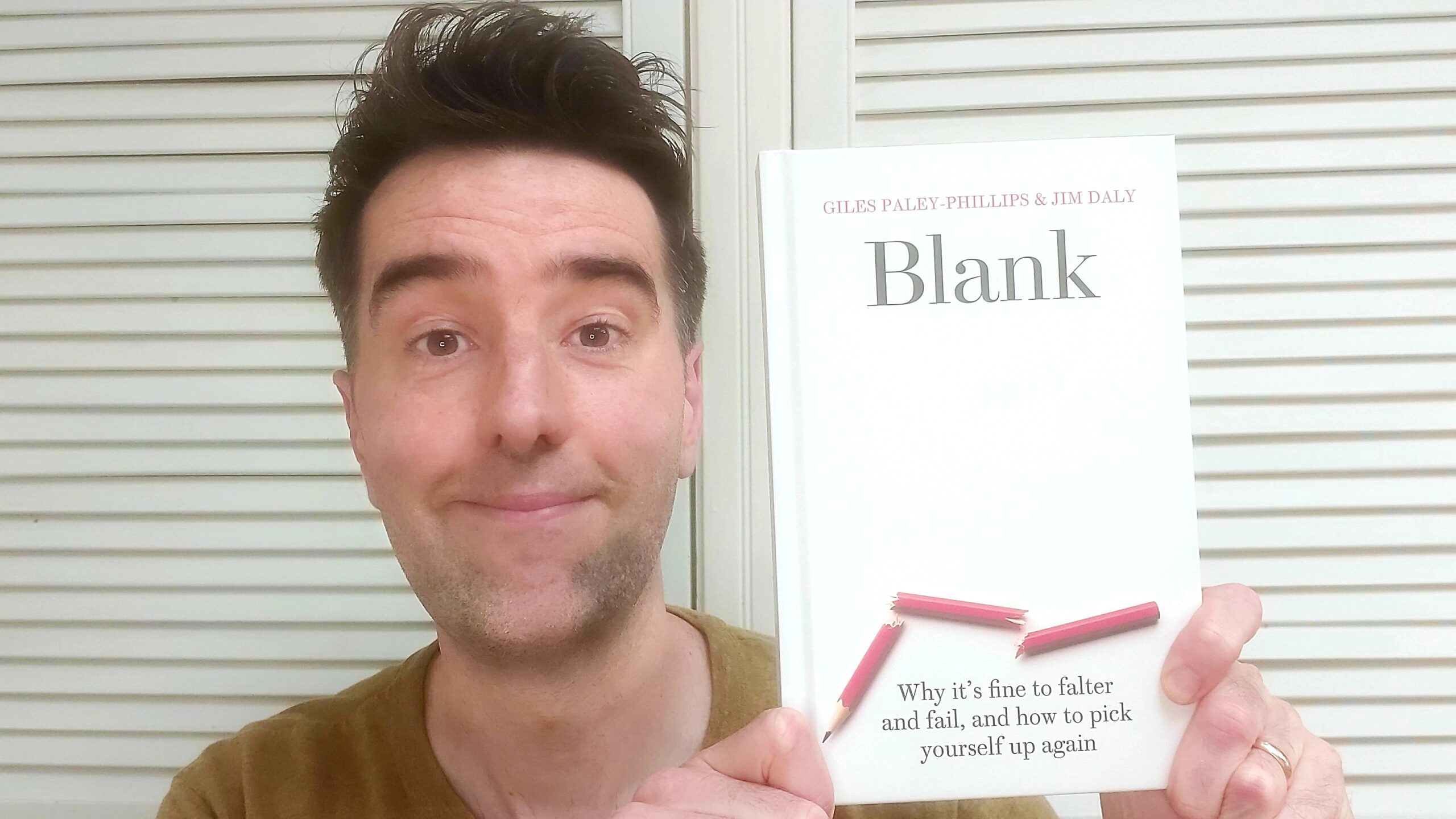 BLANK Book by Jim Daly and Giles Paley-Phillips
