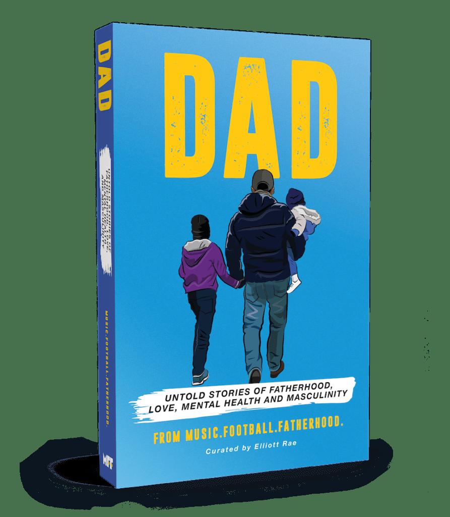 DAD Book by Music Football Fatherhood - MFF