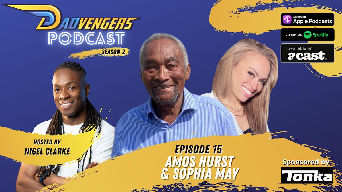Podcast Ep 15 - Amos Hurst & Sophia May